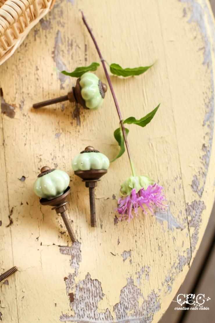 Wild Bee Balm   Cabinet Pulls   Creative Cain Cabin