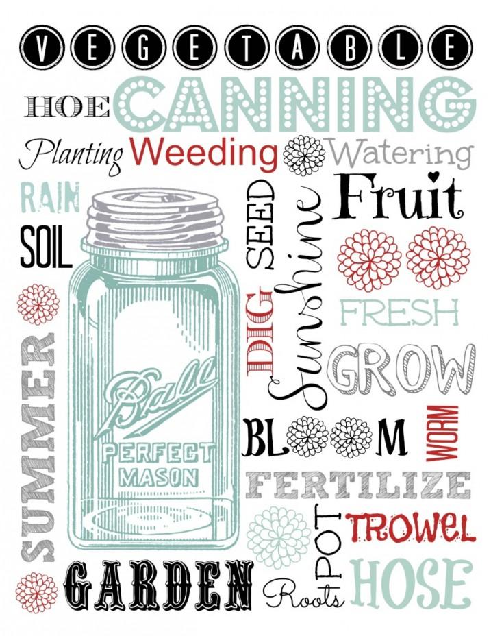 Mason Jar Printable | Creative Cain Cabin
