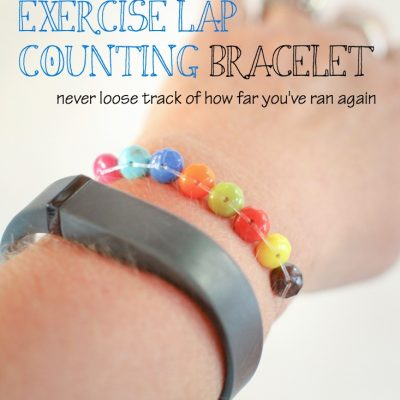 How To Make An Abacus Exercise Lap Counting Bracelet