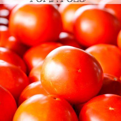 Easy Tomato Canning Method