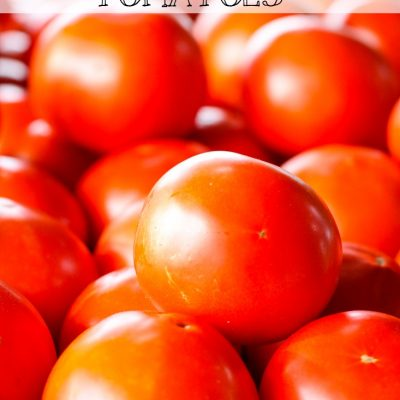 Easy Tomato Canning Method