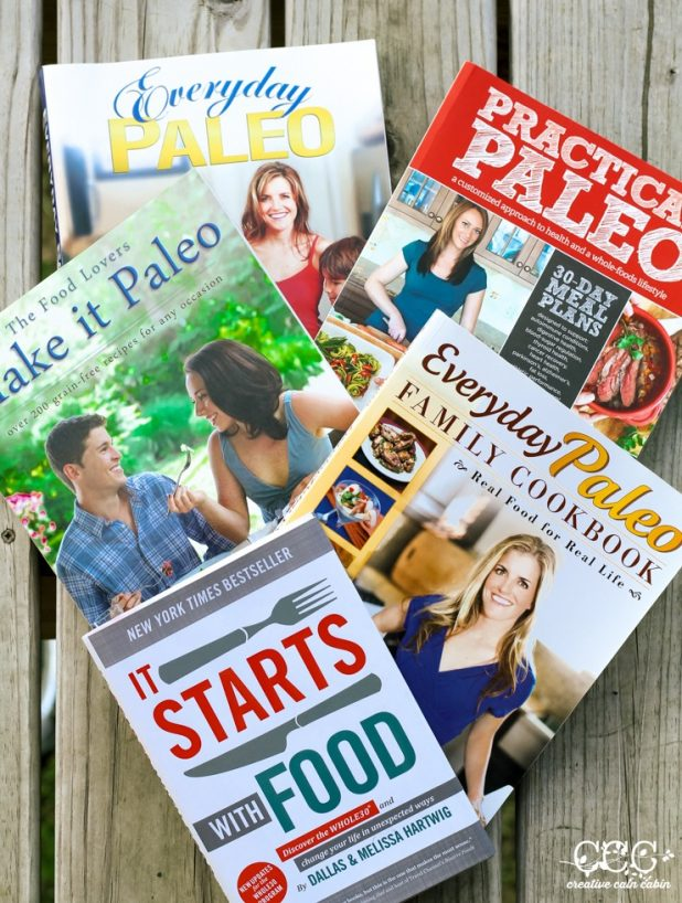 Favorite Paleo Recipe Books and Reads | Creative Cain Cabin