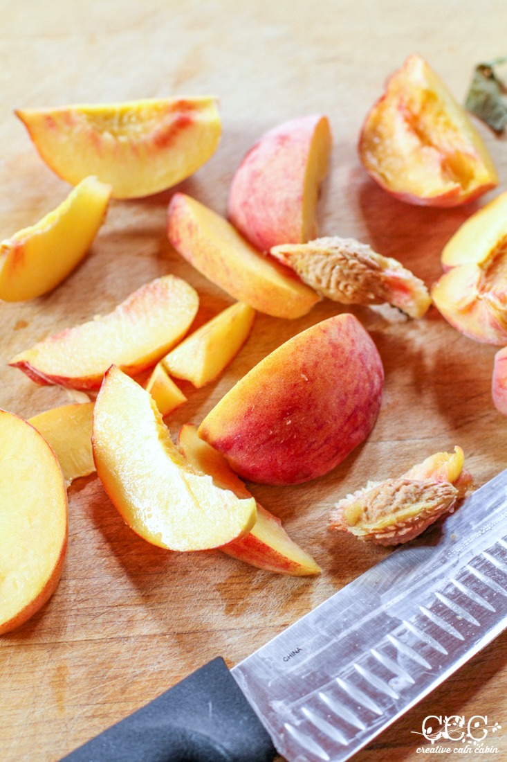 How to Dehydrate Peaches | Creative Cain Cabin