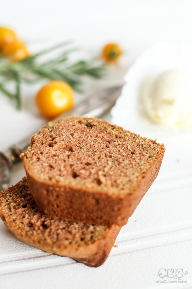 Easy Zucchini Bread Recipe   Creative Cain Cabin