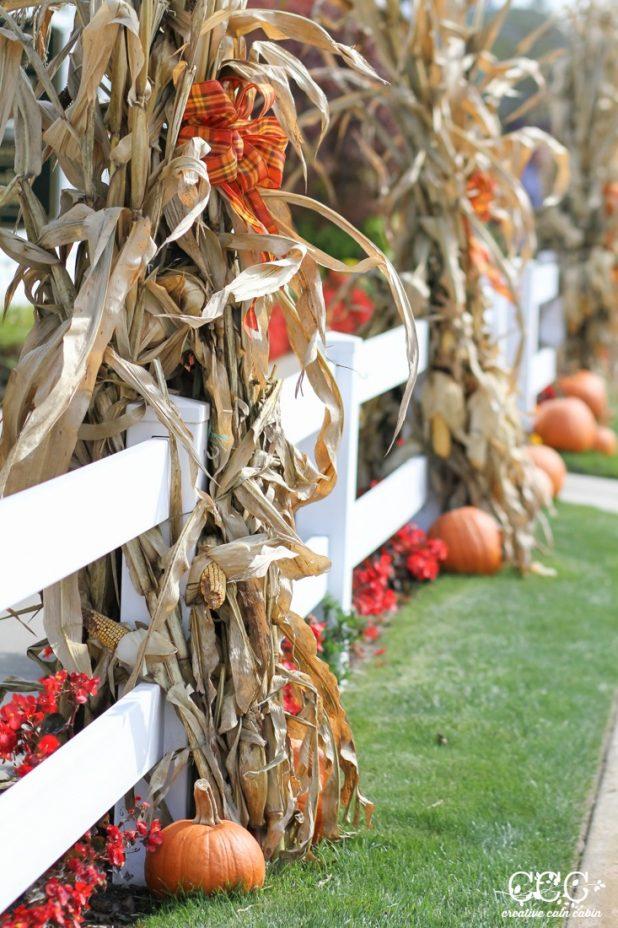 Outdoor Fall Decor Ideas | Creative Cain Cabin