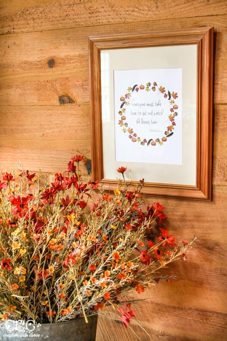 Fall Printable | Creative Cain Cabin