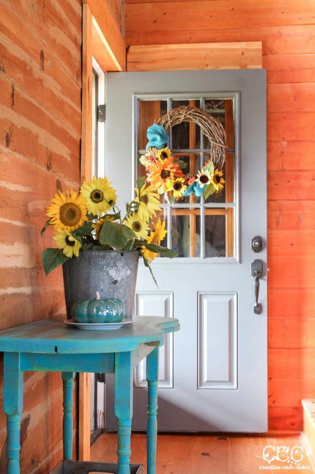 Fall Wreath   Creative Cain Cabin