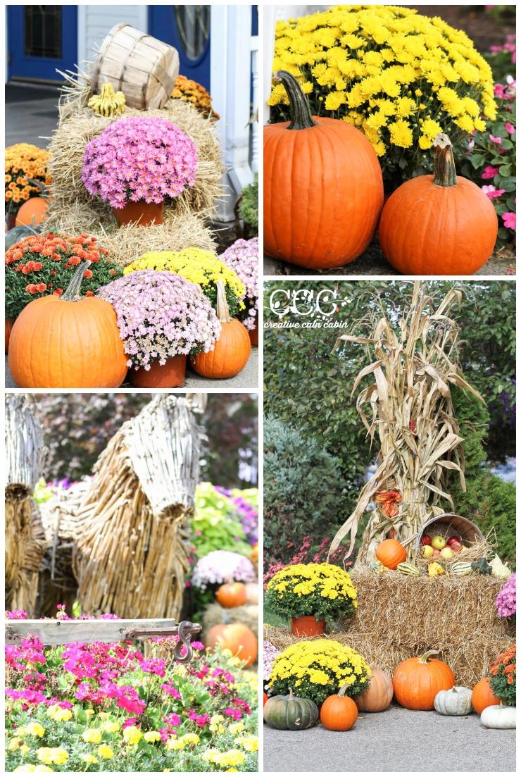 Outdoor Fall Decor Ideas   Creative Cain Cabin