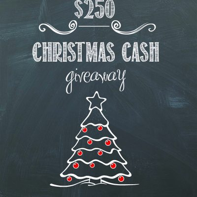 Christmas Idea Extravaganza $250 Cash Giveaway