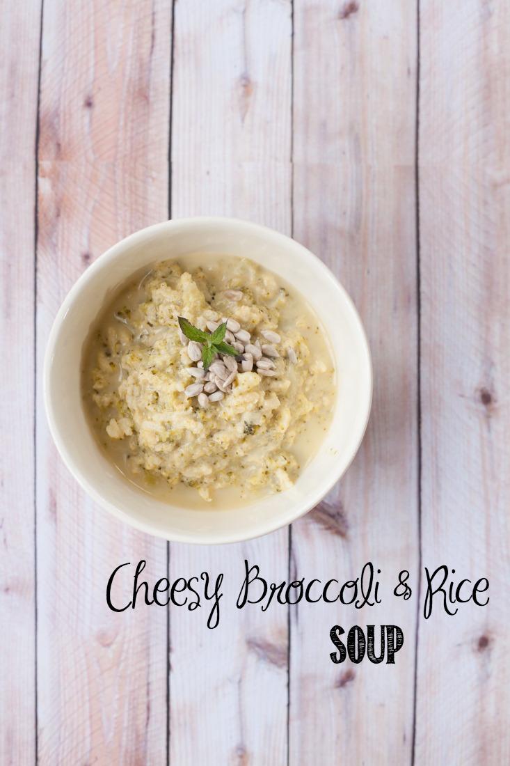 Cheesy Broccoli & Rice Soup Recipe