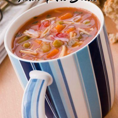 Ham & No Bean Soup (Paleo)
