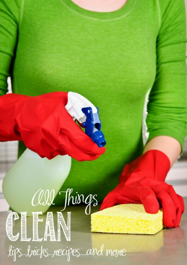 Over 50 Ideas, Tips and Tricks to Help You Speed Clean Your Home | creativecaincabin.com