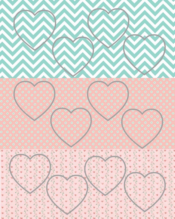 Valentine Cut Out Hanging Hearts   Creativecaincabin.com