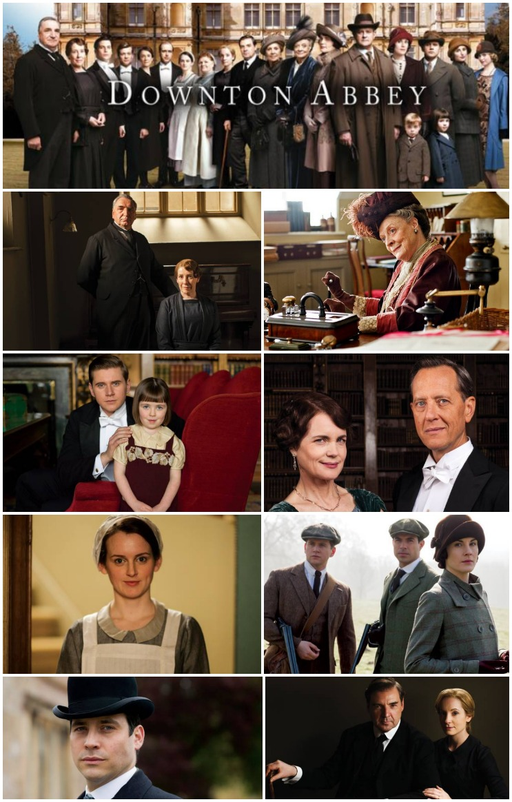 Downton Abbey Season 5 Premier January 4th, 2015 | CreativeCainCabin.com