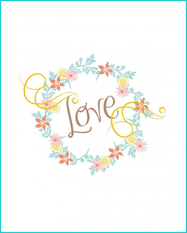 Valentine Love Printable | creativecaincabin.com