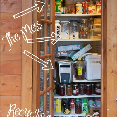 The Dreaded Pantry Cleaning & Organization
