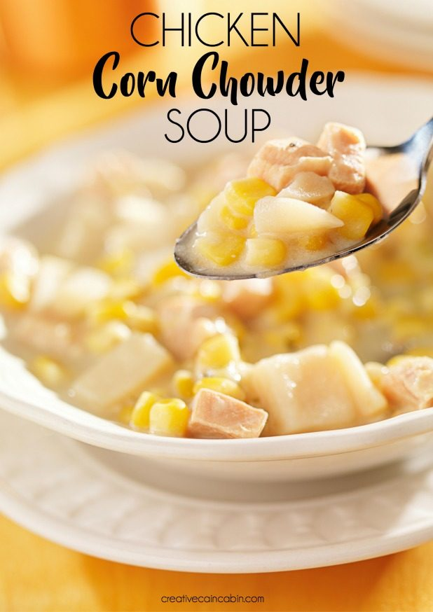 Chicken Corn Chowder Soup Recipe