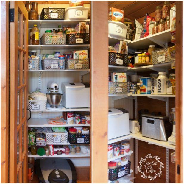 Pantry Storage and Organization System | CreativeCainCabin.com