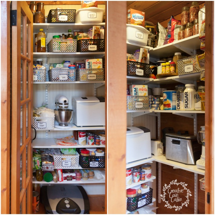 Pantry Storage and Organization System   CreativeCainCabin.com