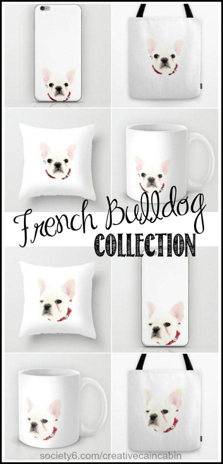 French Bulldog Collection | CretiveCainCabin.com