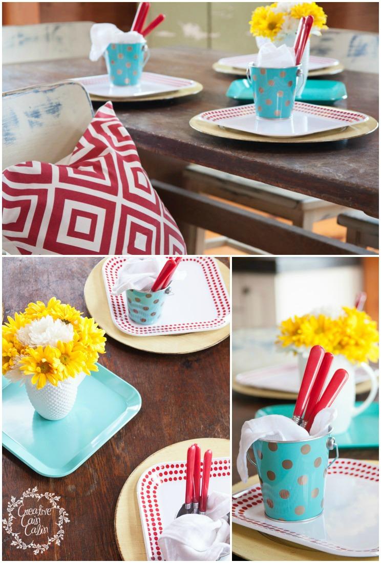 Melamine Dishes | CreativeCainCabin.com