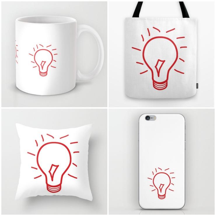 The Light Bulb Moment Collection | CreativeCainCabin.com
