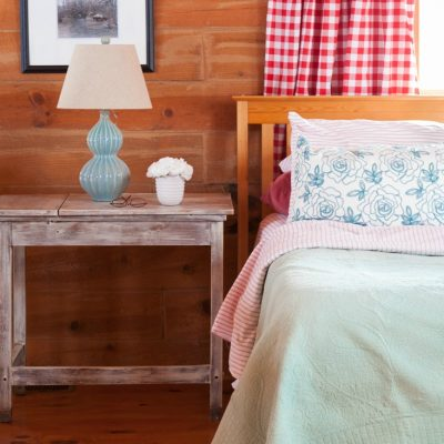 Master Bedroom, Buffalo Check, and Turquoise