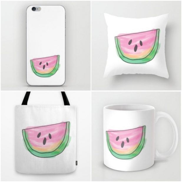 Watermelon Slice Collection | CreativeCainCabin.com