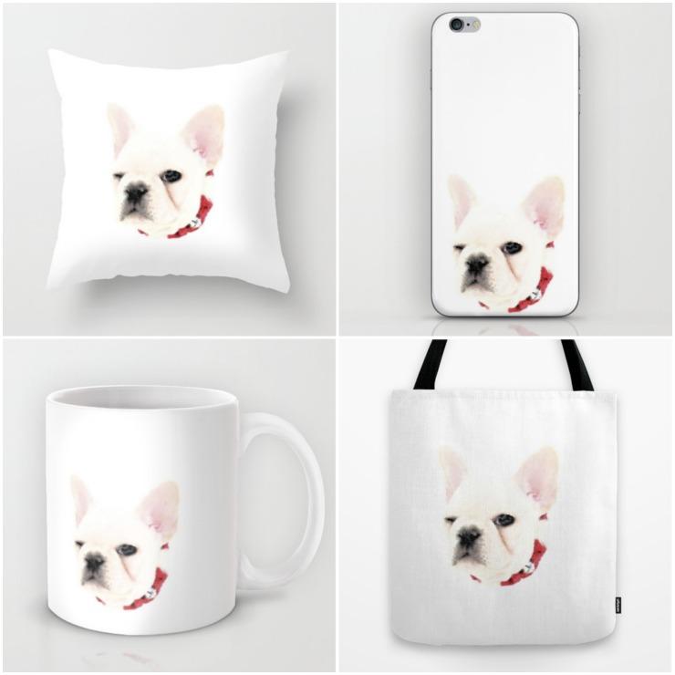 The Winking French Bulldog Collection | Creativecaincabin.com