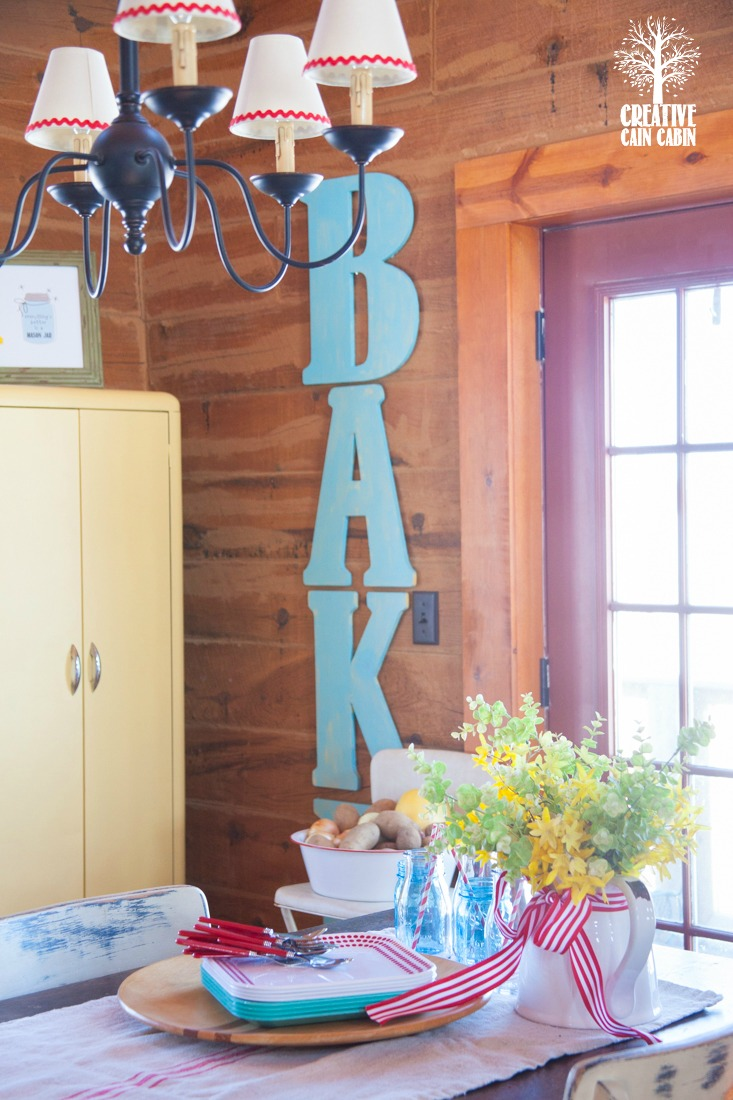 Use Letters to Create Words as Art in Any Room | CreativeCainCabin.com