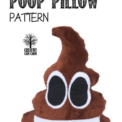 Emoji Poop Pillow Pattern