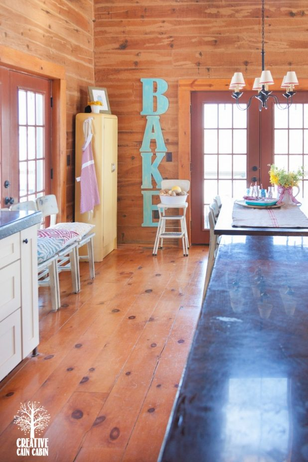 Use Letters to Create Words as Art in Any Room   CreativeCainCabin.com