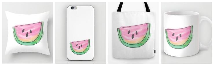 The Watermelon Slice Collection   CreativeCainCabin.com