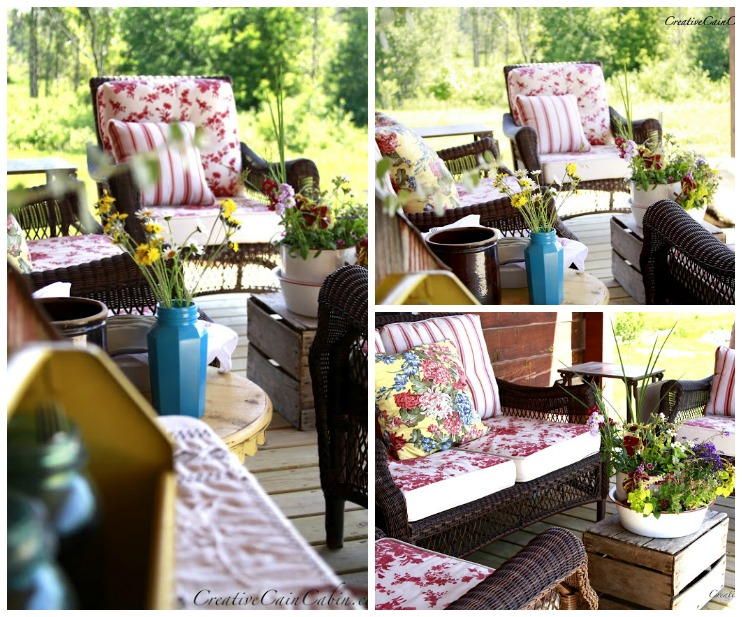 Porch Decor | One Porch Styled 6 Ways | CreativeCainCabin.com