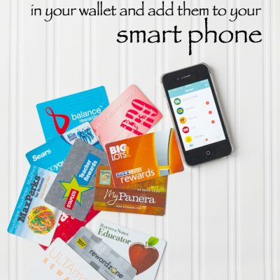How To Eliminate Reward Card Clutter with This App