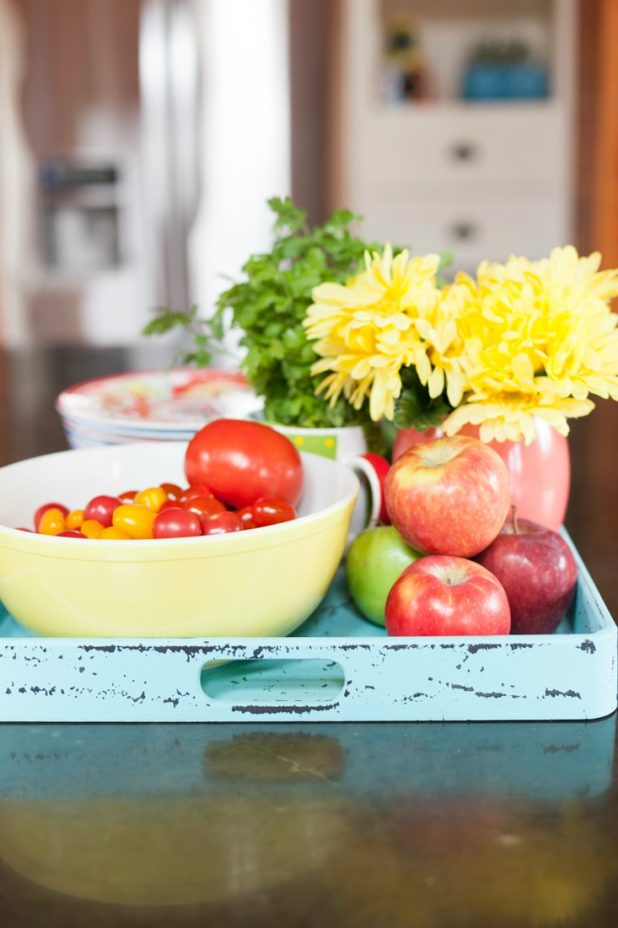 How to Style a Kitchen Tray with Edibles   CreativeCainCabin.com