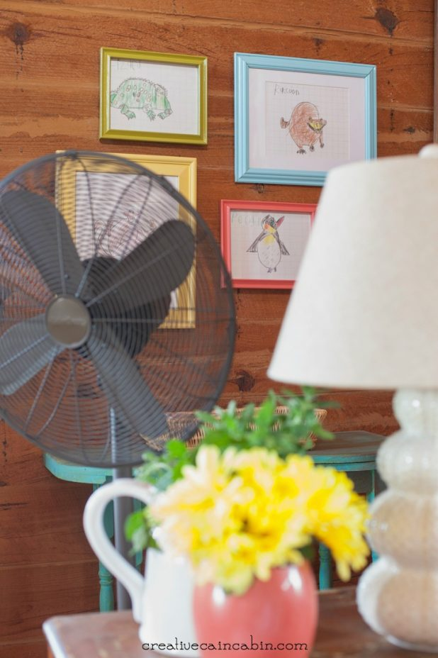 How to Clean a Floor Fan or Box Fan Using this Everyday Appliance | Super Fast and Easy | Cleaining | CreativeCainCabin.com