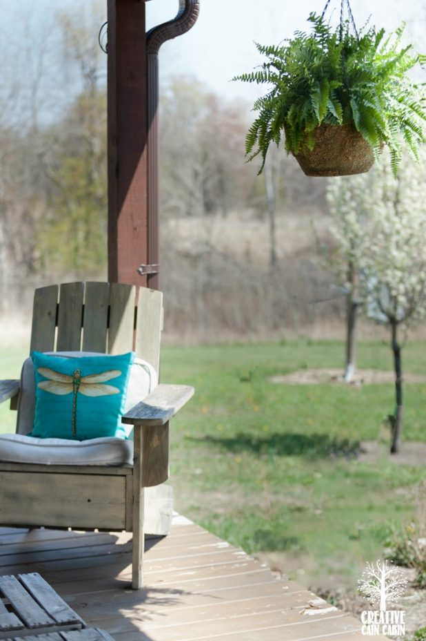 Summer Porch | CreativeCainCabin.com