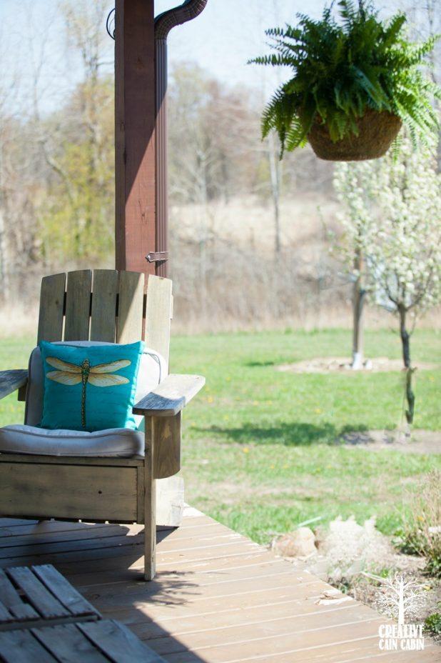 Summer Porch | CreativeCainCabin.com