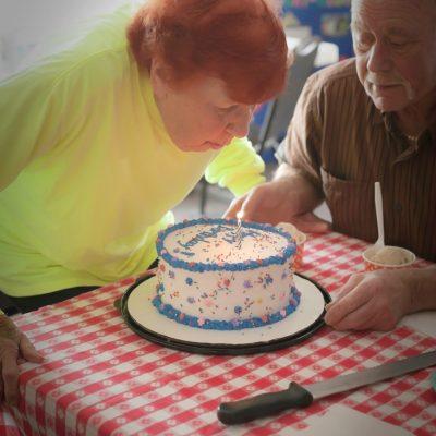 Happy 96th Birthday Grama Red