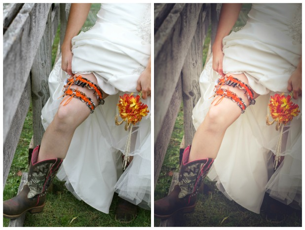 Before and After Wedding Photo Edits | CreativeCainCabin.com