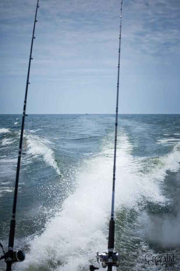 Fishing Lake Michigan | CreativeCainCabin.com