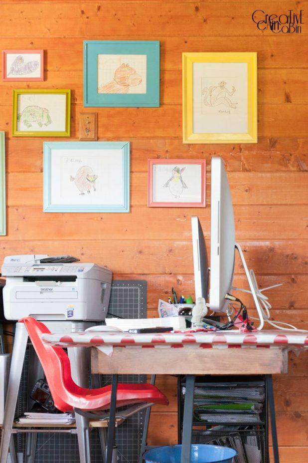 Craft/Office Space   CreativeCainCabin.com