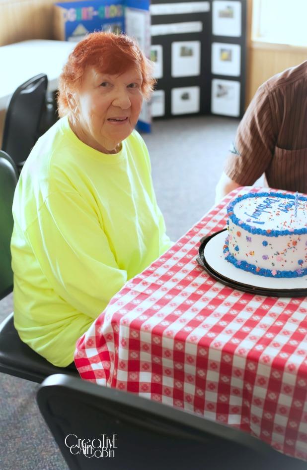 Gram Red 96th Birthday Party | CreativeCainCabin.com