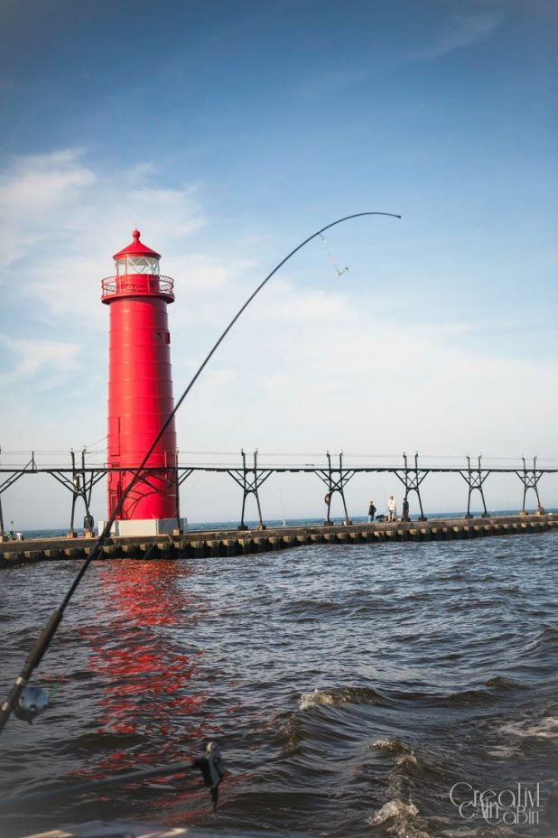 Light House Lake Michigan | CreativeCainCabin.com