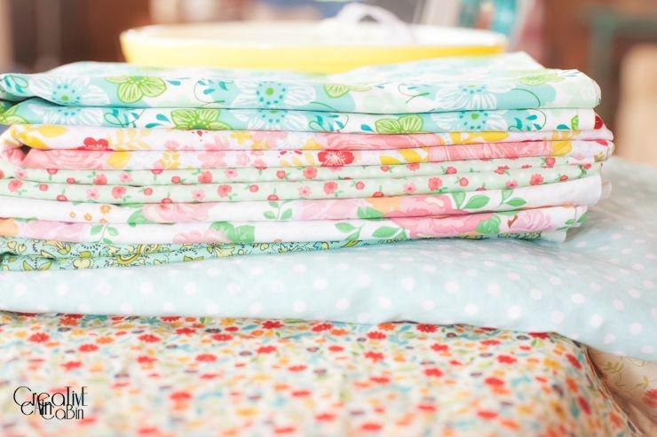 Reversible PillowCase   Farmhouse Style   Cottage Style   Vintage Fabric   Shabby Chic   CreativeCainCabin.com