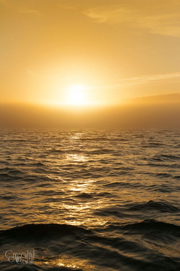 Sunrise on Lake Michigan | CreativeCainCabin.com