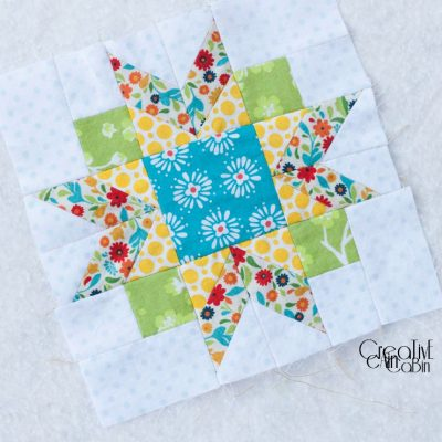 Winter Star Pot Holder & Quilt Square Design Board