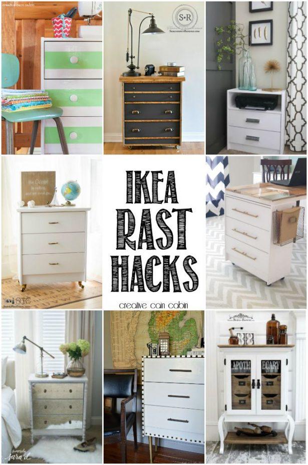 IKEA Rast Hack Projects | CreativeCainCabin.com