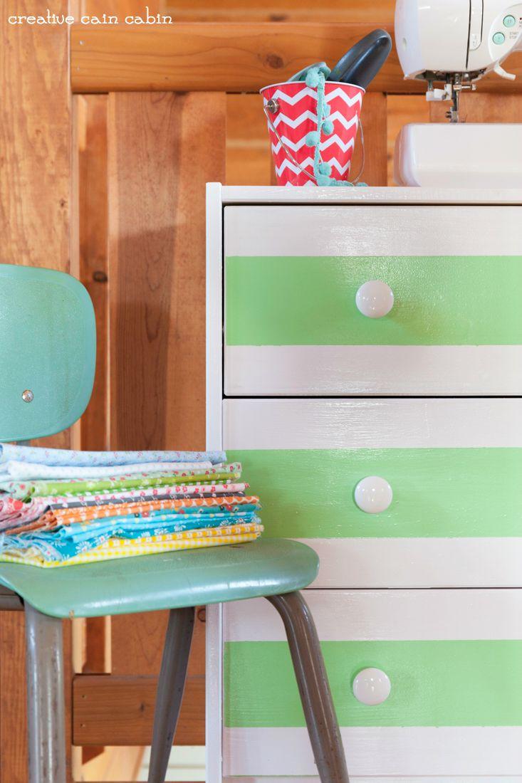Ikea Rast Hack | Pittsburgh paints | Hickory Hardware | Menards | DIY | Dresser | Paint Project | CreativeCainCabin.com